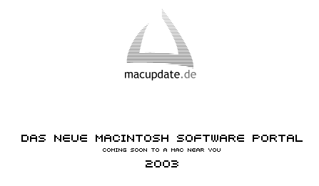 Coming soon to a Mac near you 2003